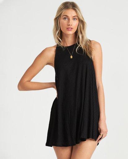 0 Sandy Sea Cover Up Dress Black XV041BSA Billabong