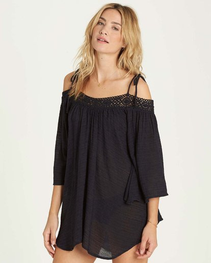 1 Breeze On Cover Up Black XV04MBRE Billabong