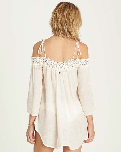 2 Breeze On Cover Up Beige XV04MBRE Billabong