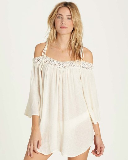 0 Breeze On Cover Up Beige XV04MBRE Billabong