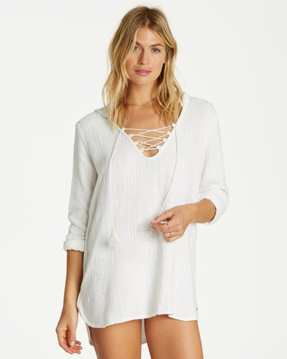 2 Same Story Cover Up White XV04VBSA Billabong