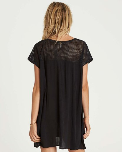 2 Meshin Around Cover Up Dress  XV05NBME Billabong