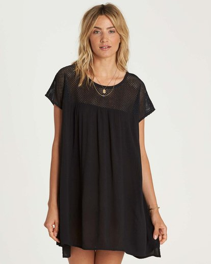 0 Meshin Around Cover Up Dress  XV05NBME Billabong