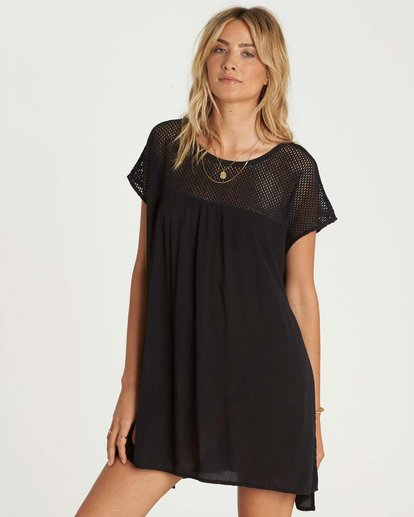 1 Meshin Around Cover Up Dress  XV05NBME Billabong