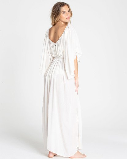 3 Sandy Shores Maxi Dress Cover Up White XV05TBSA Billabong