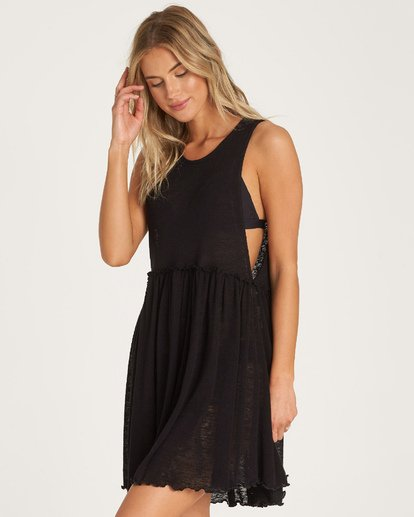 1 Wave Length Cover Up Black XV05WBWA Billabong