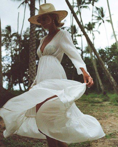 0 Salty Blonde Wander Lust Beach Cover Up Black XV063BWA Billabong