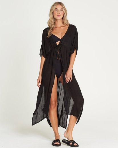 0 Shape Shift Cover Up Black XV06UBSH Billabong