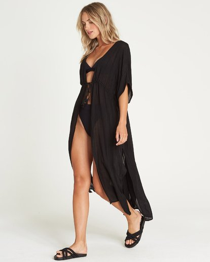 1 Shape Shift Cover Up Black XV06UBSH Billabong