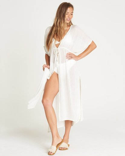 1 Shape Shift Cover Up White XV06UBSH Billabong