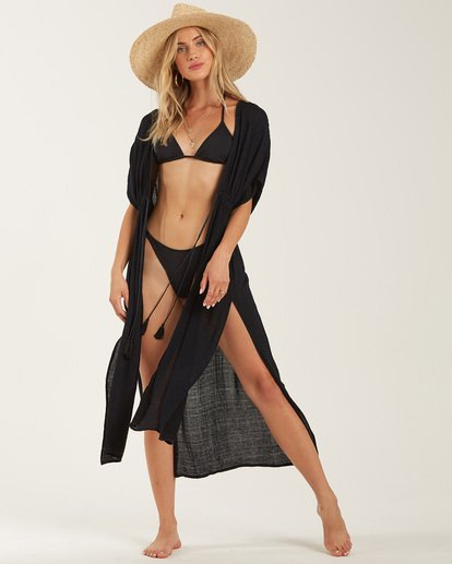 0 Shape Shift Cover Up Dress Black XV07PBSH Billabong