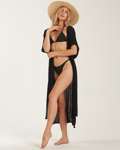 1 Shape Shift Cover Up Dress Black XV07PBSH Billabong