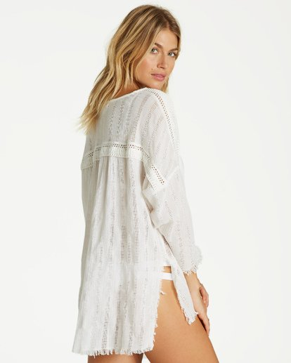3 Why Not Cover Up White XV08VBWH Billabong