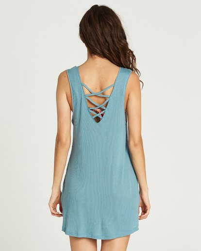 5 Lost At Sea Cover Up Dress  XV12PBLO Billabong