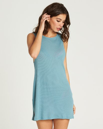4 Lost At Sea Cover Up Dress  XV12PBLO Billabong