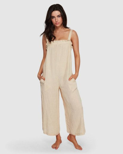 0 Current Wave Jumpsuit White XV20VBCU Billabong