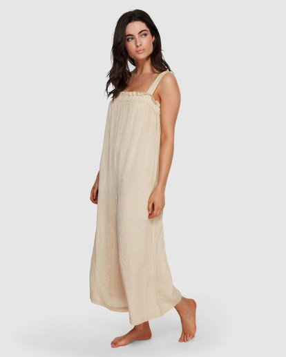 3 Current Wave Jumpsuit White XV20VBCU Billabong