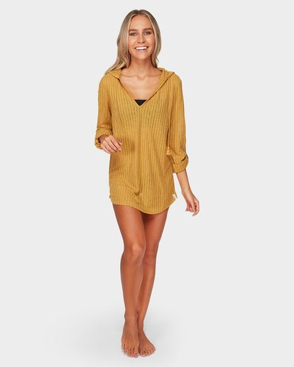 1 Sandy Beach Cover Up Brown XV21WBSA Billabong