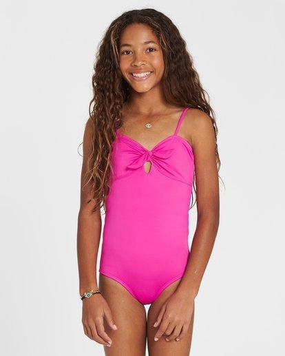 0 Girls' Sol Searcher One Piece Swim Pink Y101SBSO Billabong