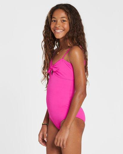 1 Girls' Sol Searcher One Piece Swim Pink Y101SBSO Billabong