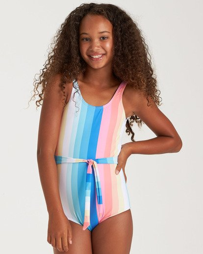 1 Girls' Me N You One Piece Grey Y1022BME Billabong