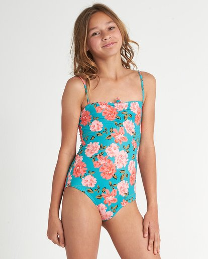 0 Sunny Shore One Piece Grey Y1031BSU Billabong