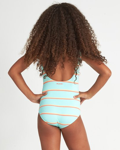 2 Girls' Baja Bliss One Piece Multicolor Y1051BBA Billabong