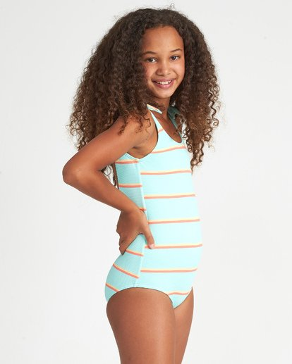 1 Girls' Baja Bliss One Piece Multicolor Y1051BBA Billabong