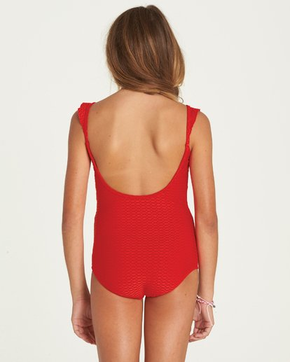 1 Girls' Makin' Shapes One Piece Swim  Y105PBMA Billabong
