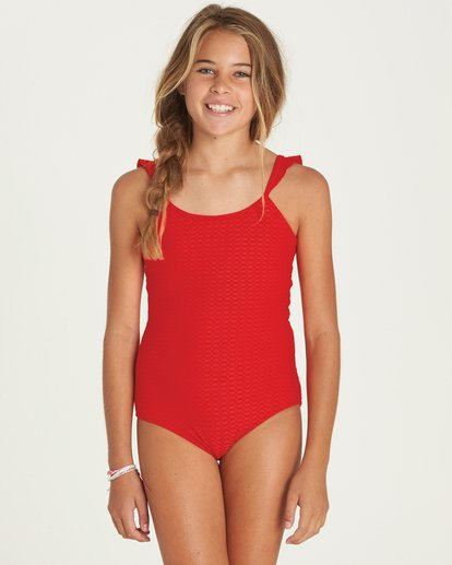 0 Girls' Makin' Shapes One Piece Swim  Y105PBMA Billabong