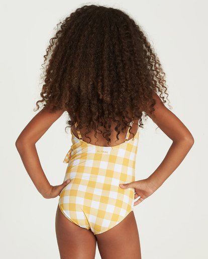 2 So Golden One Piece Swim Yellow Y105UBSO Billabong