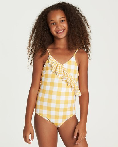 0 So Golden One Piece Swim Yellow Y105UBSO Billabong