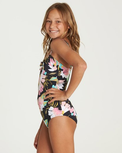 1 Night Bloom One Piece Swim Grey Y106UBNI Billabong
