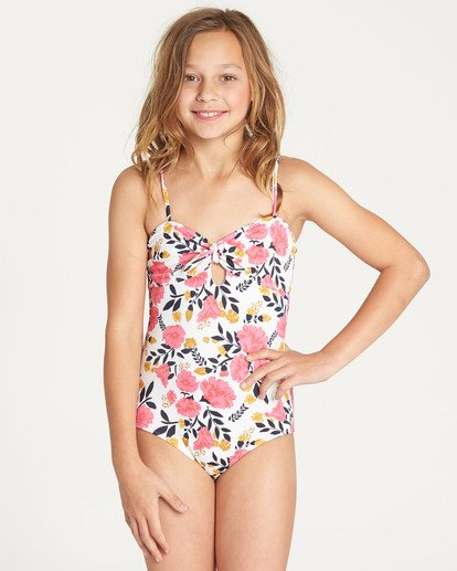 0 Girls' Sun Dream One Piece Swim Black Y107TBSU Billabong