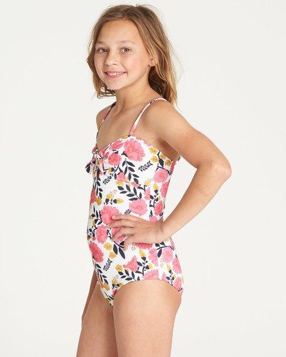 1 Girls' Sun Dream One Piece Swim Black Y107TBSU Billabong