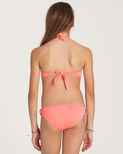 2 Girls' Sol Searcher Halter Swim Set Pink Y201NBSO Billabong