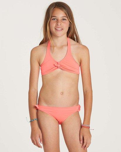 0 Girls' Sol Searcher Halter Swim Set Pink Y201NBSO Billabong