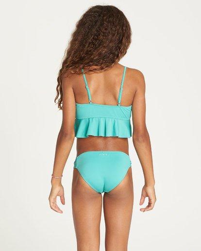2 Girls' Sol Searcher Ruffle Bikini Set Green Y201TBSO Billabong