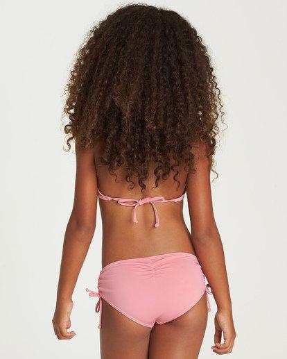 2 Sol Searcher High Neck Bikini Set Pink Y201UBSO Billabong