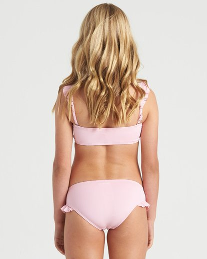 5 Girls' Warm Days Ruffle Tri Bikini Set Multicolor Y2023BWA Billabong
