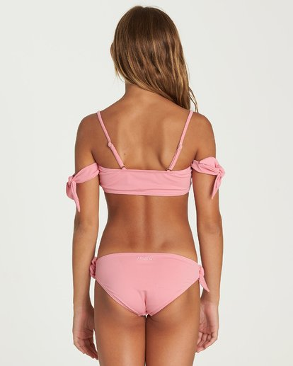 3 Sol Searcher Off Shoulder Bikini Set Pink Y202UBSO Billabong