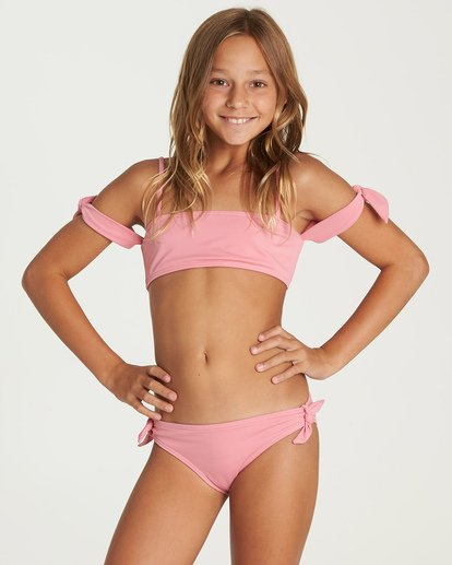 0 Sol Searcher Off Shoulder Bikini Set Pink Y202UBSO Billabong