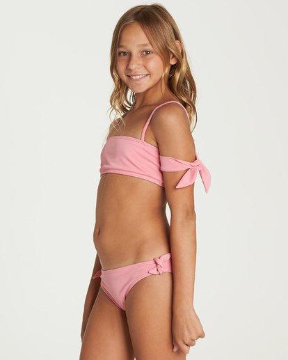 1 Sol Searcher Off Shoulder Bikini Set Pink Y202UBSO Billabong