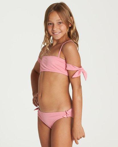 2 Sol Searcher Off Shoulder Bikini Set Pink Y202UBSO Billabong