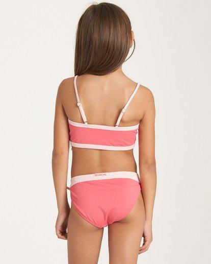 2 Girls' Sol Searcher Tank Bikini Set Pink Y202WBSO Billabong