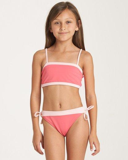 0 Girls' Sol Searcher Tank Bikini Set Pink Y202WBSO Billabong