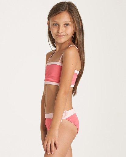 1 Girls' Sol Searcher Tank Bikini Set Pink Y202WBSO Billabong