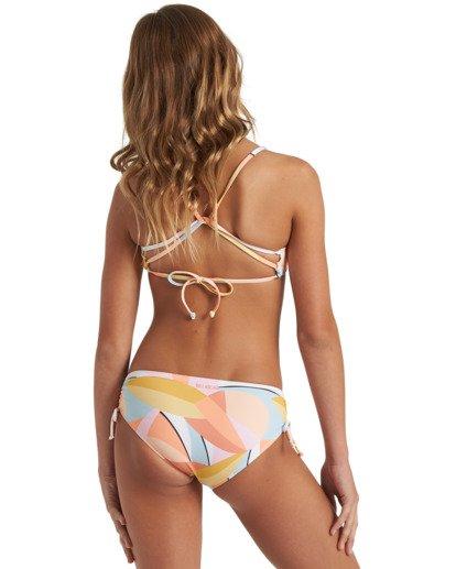 1 Girls' Warm Days Mini Crop Bikini Set Grey Y2033BWA Billabong