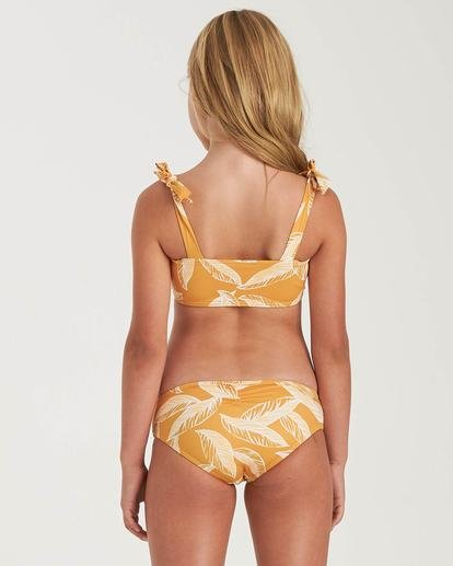 1 Girls' Little Sun Hanky Tie Yellow Y2042BLI Billabong