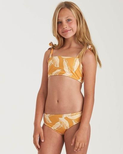 0 Girls' Little Sun Hanky Tie Yellow Y2042BLI Billabong